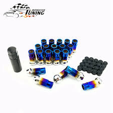 <b>Tuning</b> Monster 20 Pcs Steel Wheel Lug Nuts Length 50mm <b>M12x1</b> ...