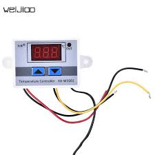 220V Digital <b>Temperature Controller</b> 10A <b>Thermostat Regulator</b> ...