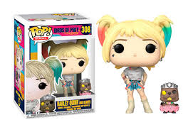 <b>Funko POP</b>! Heroes: Birds of Prey - <b>Harley Quinn</b> and Beaver | Toys ...