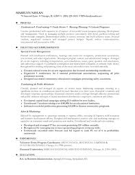 fig  sample cv examples  seangarrette cocareer change resume examples for profile with selected accomplishments and experience