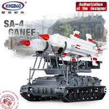 in stock xingbao 06003 1623pcs military series the sa 2 guideline set building blocks bricks educational boy s toys model gifts