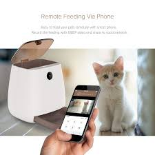 <b>3L Automatic Pet Feeder</b> Wi-Fi Smart Feeder Dry Food Container for ...