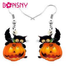 <b>Pumpkin</b> Earrings for sale | eBay