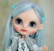 "Custom <b>Blythe doll</b> ""Taya"" with <b>natural hair</b>, ooak | Beby <b>Blythe doll</b> ..."