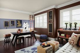 dark brown interior design room astounding home office decor accent astounding