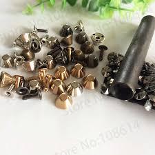 <b>1set</b> brass screwback spikes <b>Metal Head</b> Button Stud Screwback ...