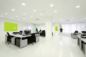 best variety office interior design ideas with amazing pure white wall theme and attractive green walls captivating office interior decoration