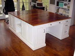 double desk for home office save some with this idea double awesome pine desks home office