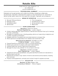 examples of resumes resume standard sample format in  examples of resumes best resume examples for your job search livecareer throughout examples of great