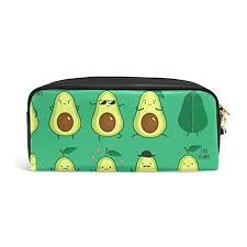 Amazon.com: YZGO Pencil Case <b>Funny</b> Cute Avocados <b>Emoticon</b> ...