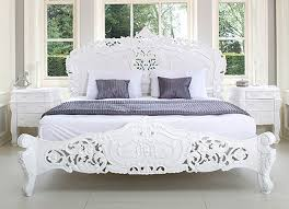 french rococo bed shabby chic style bedroom chic shabby french style