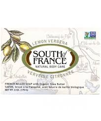 South of France Lemon Verbena <b>French Milled Soap with</b> Organic ...