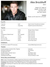 actor resume template doc mittnastaliv tk actor resume template 23 04 2017