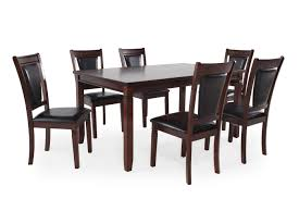 seven piece dining set: mb home high harvest seven piece dining set