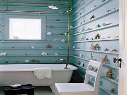 bathroom decor ideas unique decorating:  unique wall designs or by unique wall beach house decorating ideas