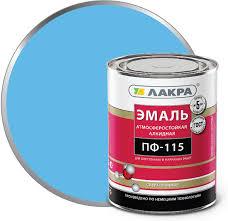 <b>Эмаль ПФ</b>-<b>115 Лакра</b>, <b>светло</b>-<b>голубой</b>, 1 кг