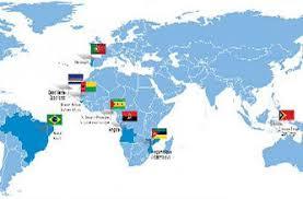 Resultado de imagem para mapa mundop luso