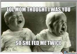 TWIN MEMES image memes at relatably.com via Relatably.com
