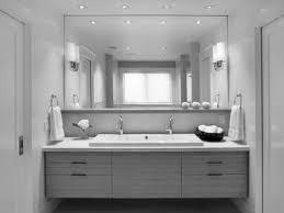 modern large bathroom design white bathroom incredible scenic white porcelain rectangle vessel sink gray