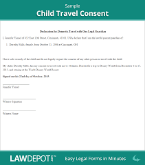 patriotexpressus unusual child travel consent form minor patriotexpressus unusual child travel consent form minor travel consent letter us excellent child travel consent sample divine funny letters