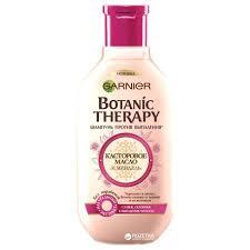 garnier шампунь botanic therapy касторовое масло и миндаль для ослабленных волос склонных к выпаданию 250 мл