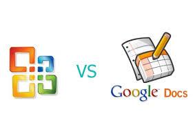excel vs google