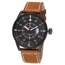 New <b>Naviforce</b> Military Sport Watches <b>Men</b> Luxury <b>Brand</b> Leather ...
