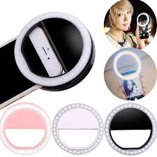 ET <b>Led Flash Lights</b> Rechargeble USB Selfie <b>Light</b> Ring мобильный ...