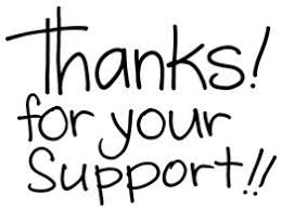 Image result for thank you for your support clipart