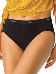 Hanes - Hanes <b>Women's cotton hi</b>-cut panties 10 pack - Walmart.com