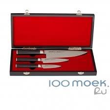 <b>Набор ножей Samura Mo-V</b> в подарочной коробке по лучшей цене