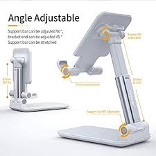 Adjustable Cell Phone <b>Holder</b>, <b>Essager Foldable</b> Tablet <b>Stand</b> ...