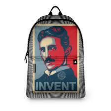 <b>Рюкзак 3D</b> Сербский гений Никола Тесла #2869048 – <b>рюкзаки</b> с ...