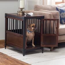 quick view boomer george trenton pet crate furniture style dog crates