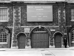 Swindon Works <b>tunnel entrance</b>, 1966 #5386021 Framed <b>Prints</b> ...