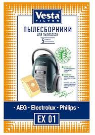 <b>Vesta filter</b> Бумажные <b>пылесборники</b> EX 01 — купить по выгодной ...
