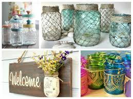 jar crafts home easy diy: mason jar crafts inspiration diy room decoration ideas upcycled jars projects