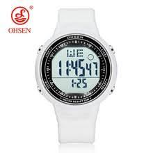 Best value Ohsen <b>Waterproof Digital Lcd</b> Alarm Mens – Great deals ...