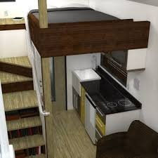 images about Small haybol on Pinterest   Townhouse  Floor    The McG Tiny House   Staircase Loft    To connect   us  and our