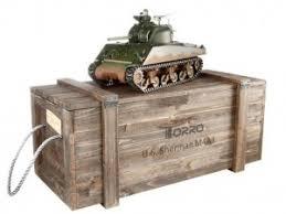 <b>Радиоуправляемый танк Torro Sherman</b> M4A3 1:16 2.4GHz с ИК ...