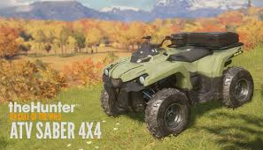 Save 43% on theHunter: Call of the Wild™ - <b>ATV</b> SABER 4X4 on ...