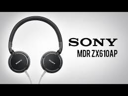 Обзор <b>наушников Sony</b> MDR ZX610AP
