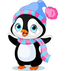 ᐈ <b>Penguin</b> with scarf stock backgrounds, Royalty Free cute <b>penguin</b> ...