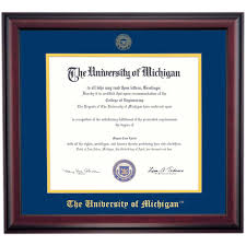michigan school color traditional for phd dentistry and law order michigan school color traditional for phd dentistry and law degrees diploma frame and diploma frames diploma display ocm at