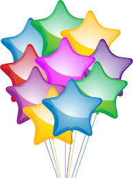 star balloon clipart clipartfest balloons png format clipart