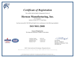 iso certified mil spec certified nsf cid ul astm nsn fda and usda certification approvals