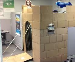 cardboard cubicle castles cardboard office