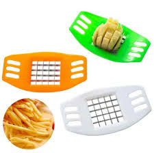 <b>1Pcs Potato Chips</b> Cutter Stainless Steel Vegetable Square Slicer ...