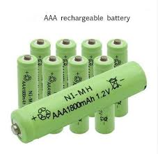 10pcs 1800mah ni mh aaa battery ni mh 1 2v neutral rechargeable battery batteries free shipping
