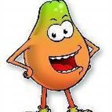 Resultado de imagen de papaya dibujo
